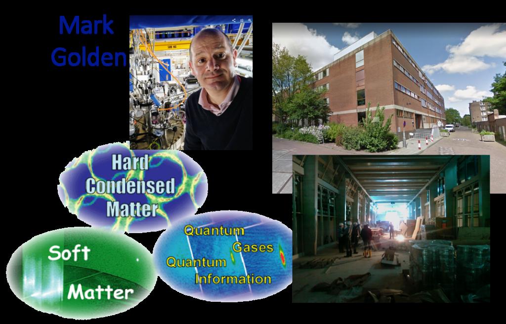 From the van der Waals lab to Sciencepark.