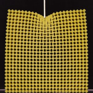 Meta-material deformations in the Coulais lab.
